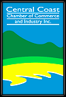Central Coast Chamber of Commerce and Industry Logo